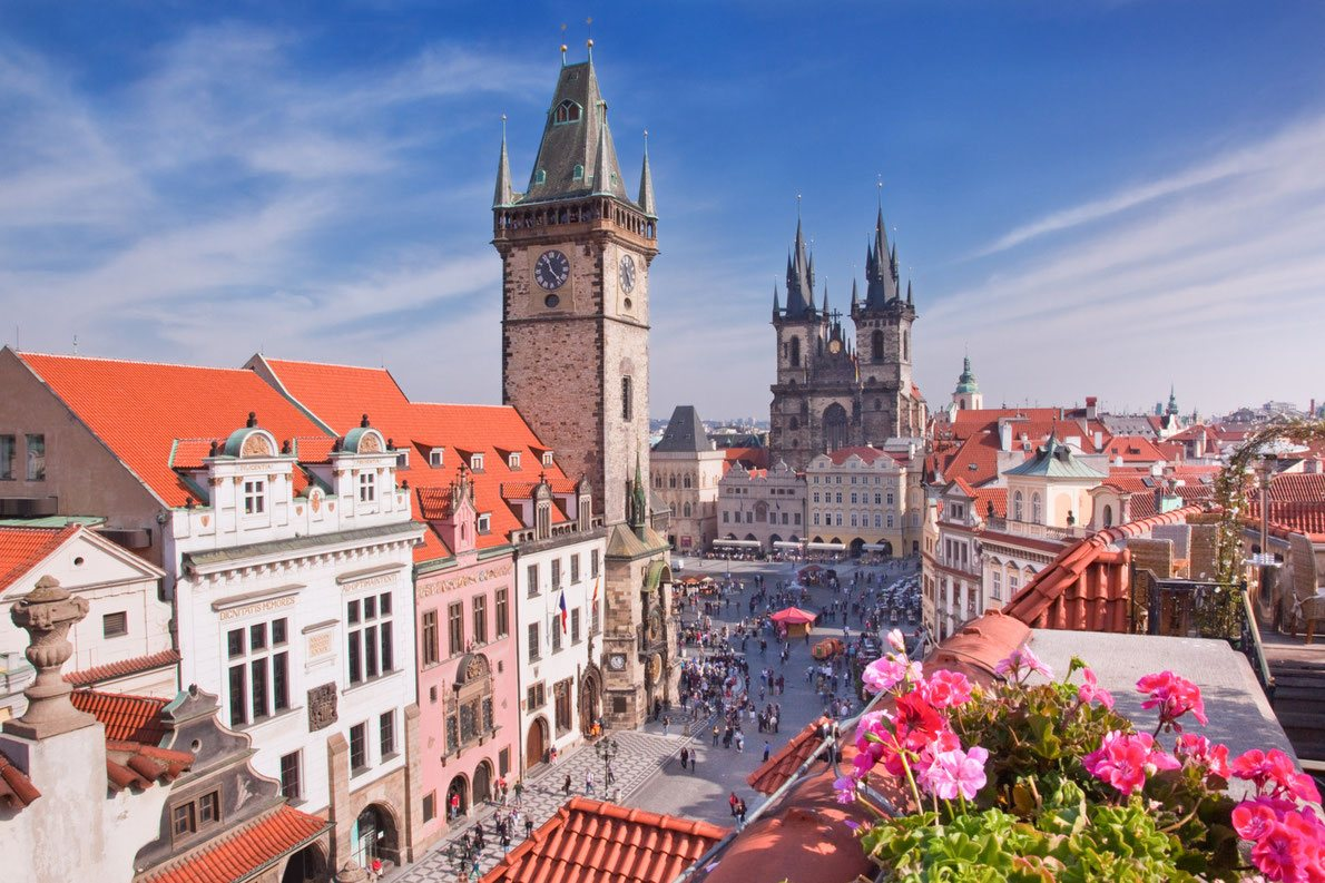 See romantic places in Prague with high-class escort Prague